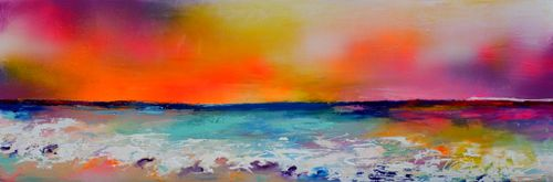 New Horizon 83 - Abstract Seascape