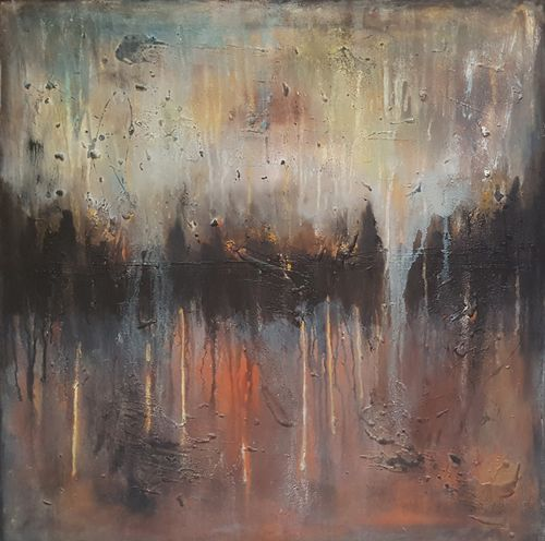 """31,5x31,5""""(80x80cm) The beauty of today 29"""