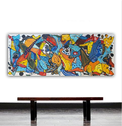 "59x 23,5""( 150x60cm), The beauty of today 16"