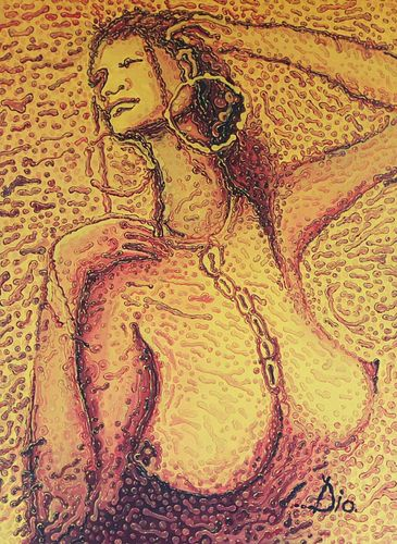 Natural Woman 7 / Acrylic on canvas