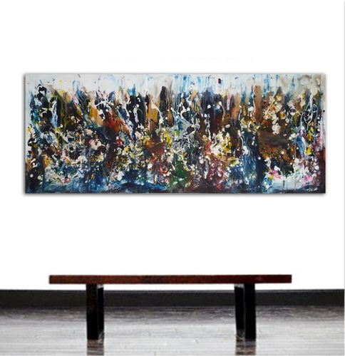 """59x 23,5""""( 150x60cm), The beauty of today 45"""