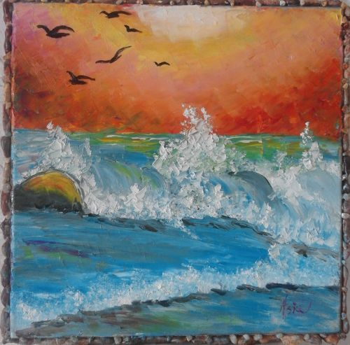SOLD ''Waves''