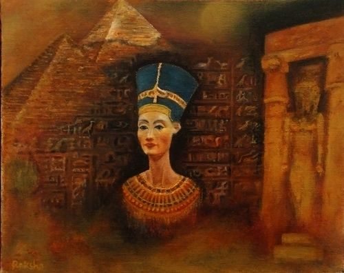 The Sovereign Woman-  Nefertiti revisited