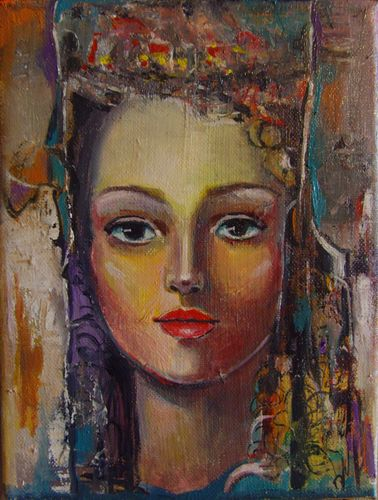 """ Donna Alexandrina ""  Oil Painting on Canvas"