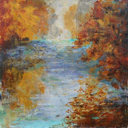 AUTUMN OVER WATER
