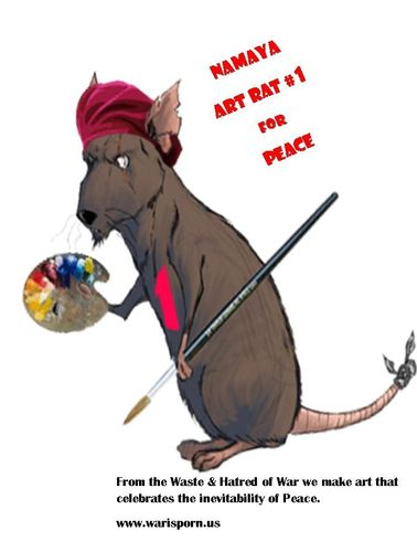 Namaya Art Rat for Peace