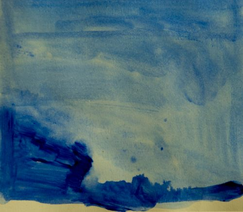 Original painting Blue no.2 size5*7.5 inches.