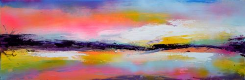 New Horizon 70 Large Abstract Seascape Landsc