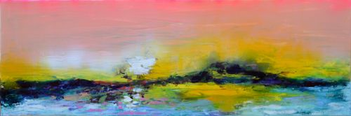 New Horizon 64 - 120x40 cm Ready to Hang