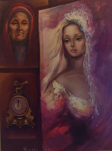 """"""" Time """" - Original Oil Painting on Canvas"""