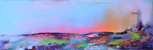 Trending art: New Horizon 60 - 120x40 cm, Large Modern Read